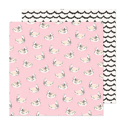 Maggie Holmes - Marigold Collection - 12 x 12 Double Sided Paper - Darling