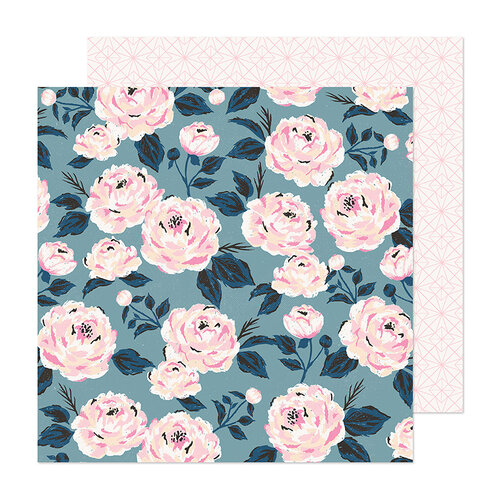 Maggie Holmes - Marigold Collection - 12 x 12 Double Sided Paper - Becoming