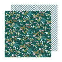 Crate Paper - Marigold Collection - 12 x 12 Double Sided Paper - Best Day