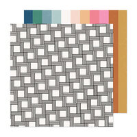 Crate Paper - Marigold Collection - 12 x 12 Double Sided Paper - Dream Big