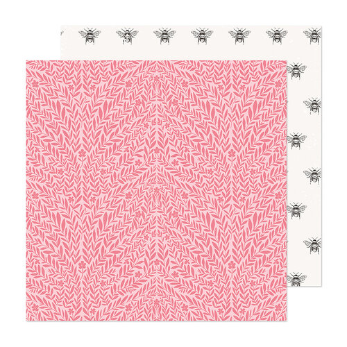 Maggie Holmes - Marigold Collection - 12 x 12 Double Sided Paper - Cherish