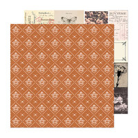 Crate Paper - Marigold Collection - 12 x 12 Double Sided Paper - Our Story