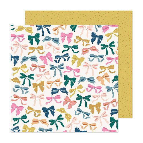Maggie Holmes - Marigold Collection - 12 x 12 Double Sided Paper - Charmed
