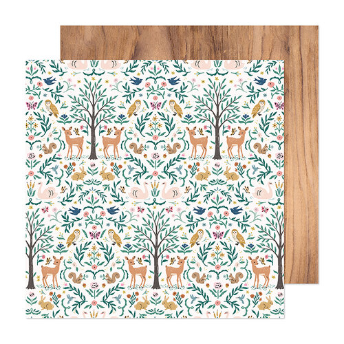 Crate Paper - Marigold Collection - 12 x 12 Double Sided Paper - Very Dear