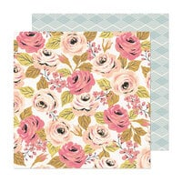 Crate Paper - Marigold Collection - 12 x 12 Double Sided Paper - Full of Grace