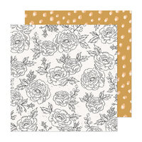 Maggie Holmes - Marigold Collection - 12 x 12 Double Sided Paper - Stay True