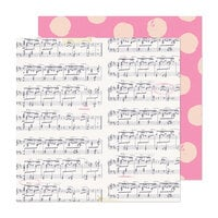 Maggie Holmes - Marigold Collection - 12 x 12 Double Sided Paper - High Note