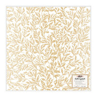 Crate Paper - Marigold Collection - 12 x 12 Vellum Paper with Gold Foil Accents - Golden Hour