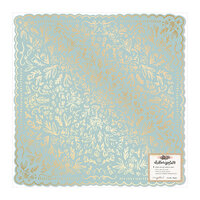 Crate Paper - Marigold Collection - 12 x 12 Specialty Paper with Gold Foil Accents - So Sweet
