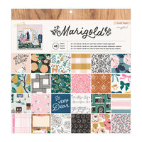 Crate Paper - Marigold Collection - 12 x 12 Paper Pad