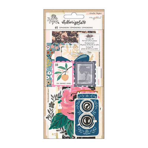 Crate Paper - Marigold Collection - Ephemera Pack