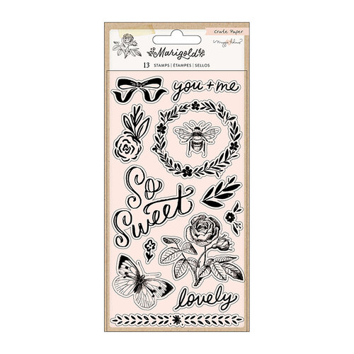Crate Paper - Marigold Collection - Clear Acrylic Stamps