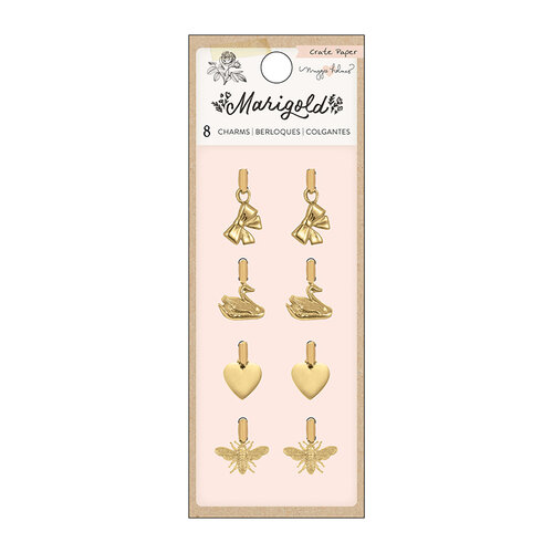 Crate Paper - Marigold Collection - Gold Icon Charms