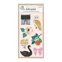 Maggie Holmes - Marigold Collection - Embossed Puffy Stickers