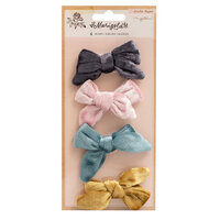 Crate Paper - Marigold Collection - Velvet Adhesive Bows