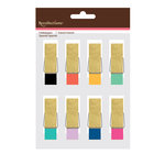 American Crafts - Clothespins - Glitter and Fashion Colors