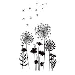 American Crafts - Wall Art - Wall Decals - Dandelions