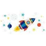 American Crafts - Wall Art - Wall Decals - Rocket Ship