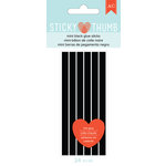 American Crafts - Adhesives - Glue Gun - Sticky Thumb - Mini Glue Sticks - Black