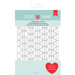 American Crafts - Adhesives - Sticky Thumb - Photo Corners - Clear