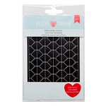 American Crafts - Adhesives - Sticky Thumb - Photo Corners - Black