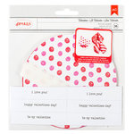 American Crafts - Valentines Collection - Kit - Fortune Cookies