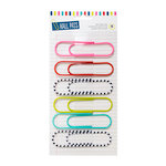 American Crafts - Hall Pass Collection - Adult Coloring - Paper Clips - Multicolor - 4 Inches