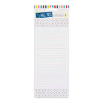 American Crafts - Hall Pass Collection - Adult Coloring - Magnetic Memo Pad