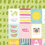 American Crafts - Dear Lizzy Collection - Happy Place - 12 x 12 Double Sided Paper - Sun Kissed