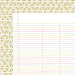 American Crafts - Dear Lizzy Collection - Happy Place - 12 x 12 Double Sided Paper - Palm Beach