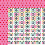 American Crafts - Dear Lizzy Collection - Happy Place - 12 x 12 Double Sided Paper - Say Cheese!