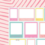 American Crafts - Happy Place Collection - 12 x 12 Double Sided Paper - La La Land