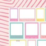 American Crafts - Dear Lizzy Collection - Happy Place - 12 x 12 Double Sided Paper - La La Land