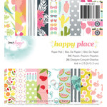 American Crafts - Dear Lizzy Collection - Happy Place - 6 x 6 Paper Pad