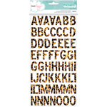 American Crafts - Happy Place Collection - Thickers - Chipboard - Palm Springs - Multi
