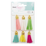 American Crafts - Dear Lizzy Collection - Happy Place - Tassels