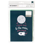 American Crafts - Valentines Cards - 5 x 7 - Moon and Back