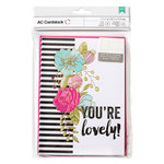 American Crafts - Valentines Cards - 5 x 7 - You're Lovely