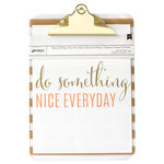 American Crafts - 9 x 12.5 Clipboard with Print - Something Nice