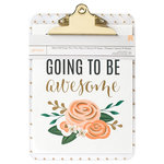 American Crafts - 9 x 12.5 Clipboard with Print - Today