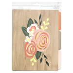 American Crafts - File Folders - Rose