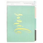 American Crafts - File Folders - Smile