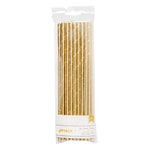 American Crafts - Metallic Straws - Solid - Gold