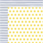 American Crafts - Amy Tangerine Collection - Better Together - 12 x 12 Double Sided Paper - Sun and Moon