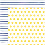 American Crafts - Better Together Collection - 12 x 12 Double Sided Paper - Sun and Moon