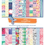 American Crafts - Amy Tangerine Collection - Better Together - 6 x 6 Paper Pad
