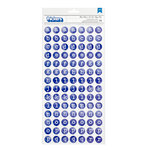 American Crafts - Better Together Collection - Thickers - Chipboard - Here and There - Blue