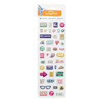 American Crafts - Amy Tangerine Collection - Better Together - Puffy Stickers