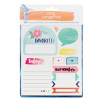 American Crafts - Amy Tangerine Collection - Better Together - Cardstock Stickers Book