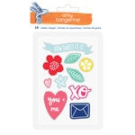 American Crafts - Amy Tangerine Collection - Better Together - Rubber Shapes